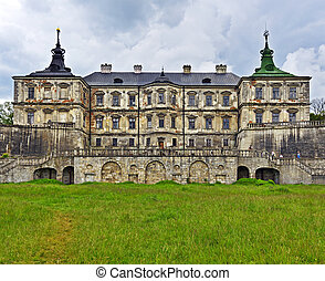 fortress in Lviv - Pidhirtsi Castle is a residential castle-...