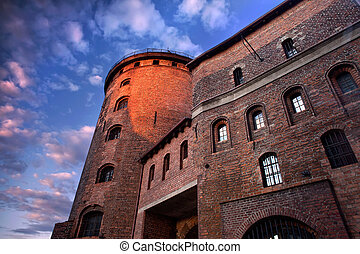 Fortress in Poland.