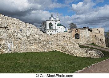 fortress., izborsk