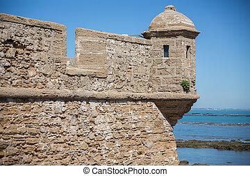 Fortress merlon
