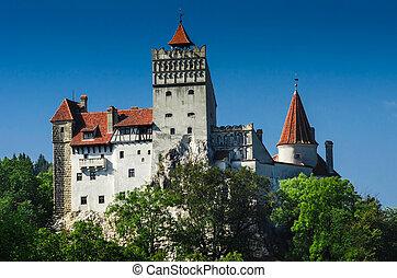 Fortress of Dracula, Bran Castle in Transylvania, Romania