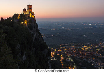 Fortress of Guaita - Mount Titano - San Marino - The...