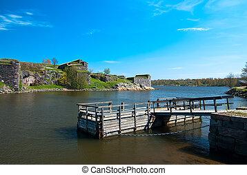 Fortress of Suomenlinna.