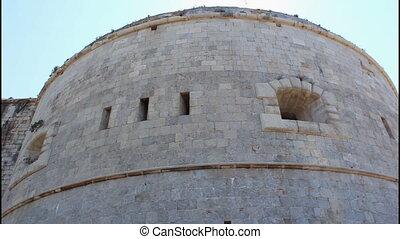 Fortress, tilt down, left