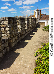 Fortress wall - The capture of a Spanish fortress wall. ...