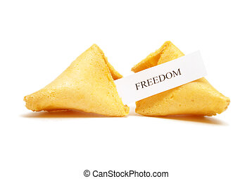 Fortune Cookie of Freedom