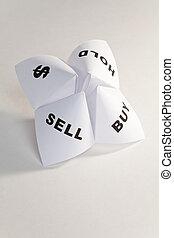 fortune papier, caissier