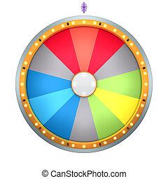 fortune, roue