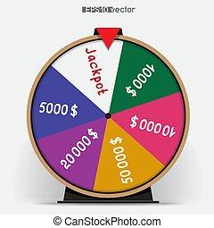 fortune wheel six segmentation - Six segmentation fortune...