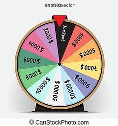 fortune wheel twelve segmentation - Twelve segmentation...