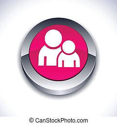 Forum 3d button.