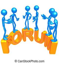 Forum - 3D Concept And Presentation Figure