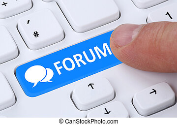 Forum communication community internet blog media discussion