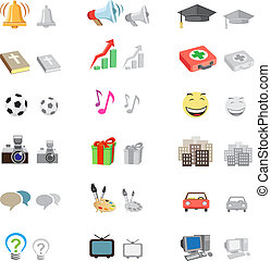 forum icon set
