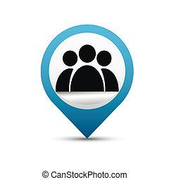 Forum icon vector
