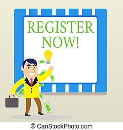 forum., now., concept, mot, business, texte, projection, registre, liste, écriture, enregistrement, choses, ou, officiel