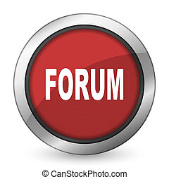 forum red icon