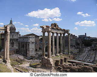 Forum Romanum - Ruins of Roman Forum