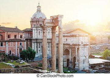Forum. Rome landmark. Rome, Italy
