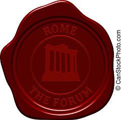 forum sealing wax