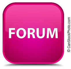 Forum special pink square button