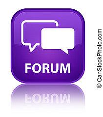 Forum special purple square button