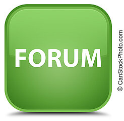 Forum special soft green square button