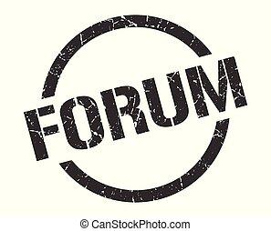 forum, timbre