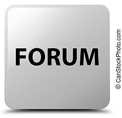 Forum white square button