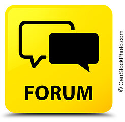 Forum yellow square button