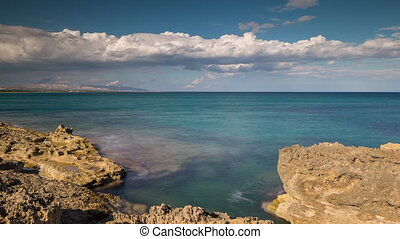 Forward and reverse timelapse of sicily coast - Clouds ...