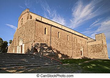 Fossacesia, Chieti, Abruzzo, Italy: abbey of San Giovanni in...