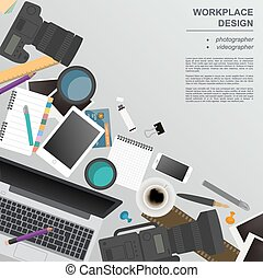 fotógrafo, workspace