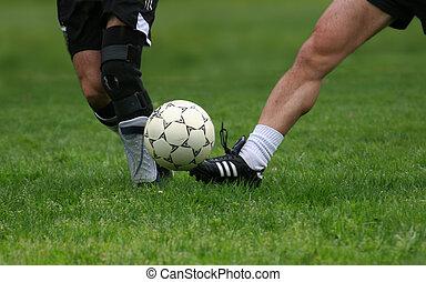 fotbal spády