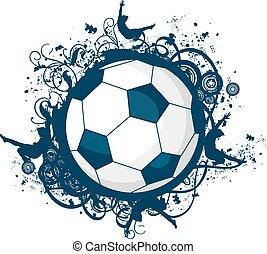 fotboll bal, ikon