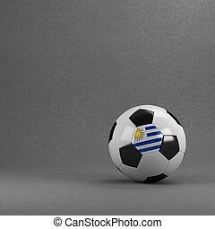 fotboll bal, uruguay