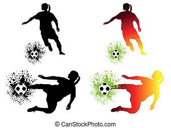 fotboll, kvinnor