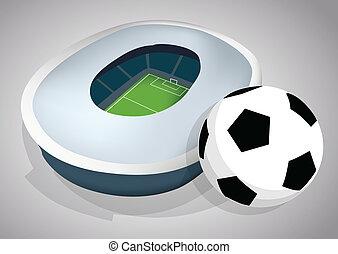 fotboll, stadion