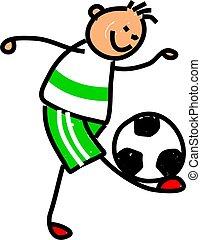 fotboll, unge
