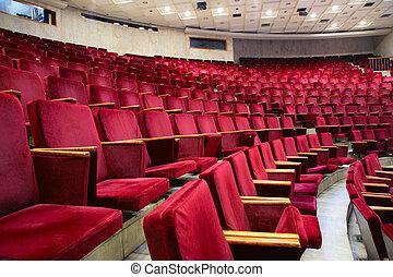 fotel, teatr