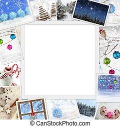 fotit, exemplář, vánoce, vybírání, proložit