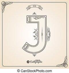 fotn, umrandungen, calligraphic