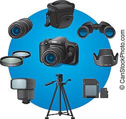 foto, accessori