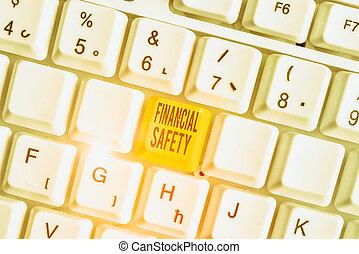 foto, begrifflich, goals., ausstellung, notfälle, decke, finanziell, geld, genug, safety., gespeichert, text, zeichen