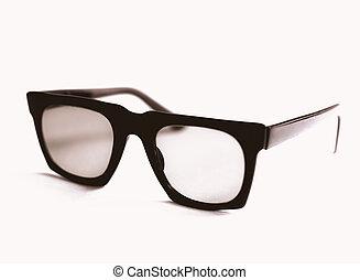 foto, black , nerd, vertoning, lijstjes
