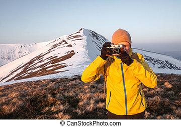foto, boeiend, fotograaf
