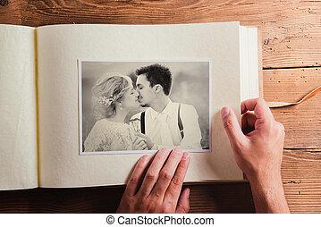 foto, casório