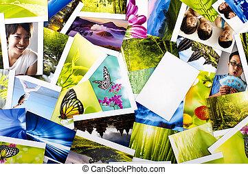 foto, collezione
