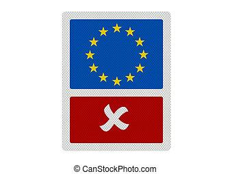 foto, concept., politico, \'no, series:, realistico, eu\', edizioni