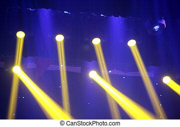 foto, effect, closeup, donker, verlichting, toneel